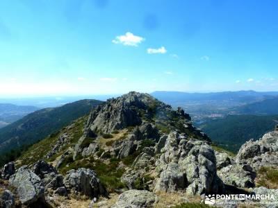 JUEVES Senderista - Cuerda de las Cabrillas y Valle de la Barranca;cercedilla senderismo rutas a pie